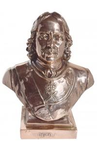 Бюст под бронзу Петр Первый.