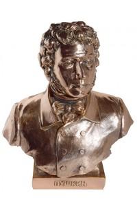 Бюст под бронзу Пушкин.