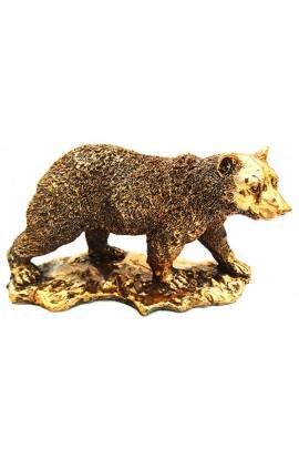 Фигурка декоративная Медведь высота 14 см.