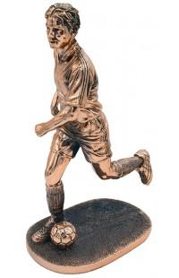 Статуэтка под бронзу Футболист.
