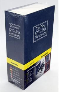 Книжка сейф металлическая с замком Английская энциклопедия 17см.