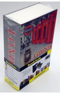 Книжка сейф металлическая с цифровым замком Лондон 17см.