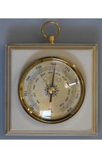 Метеостанция барометр в деревянном корпусе немецкий механизм Бриг.