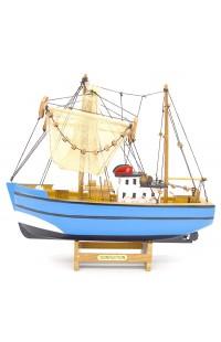 Декоративная модель РЫБАЦКАЯ ШХУНА, 28 см
