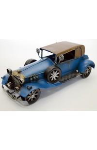 Модель декоративная металлическая ручной работы Автомобиль.
