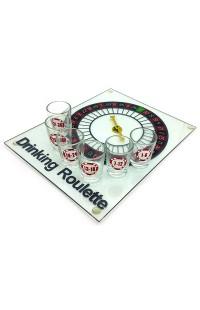 Игра для веселой компании на 6 стопок Пьяная рулетка.