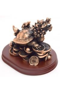 Статуэтка под бронзу Драконовая черепаха.
