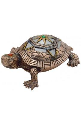 Фигурка под бронзу Черепаха.