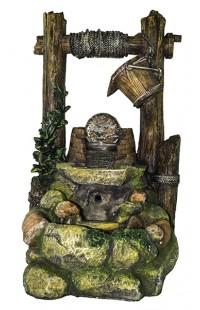 Декоративный фонтан КОЛОДЕЦ, высота 60см
