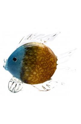 Стеклянная фигурка Рыбка высота 22 см