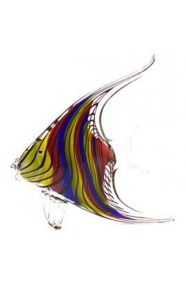 Стеклянная фигурка Рыбка высота 21 см