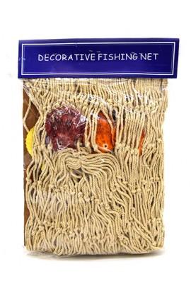 Декоративная рыбацкая сеть, 2 метра