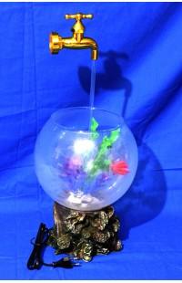 Декоративный фонтан-аквариум КРАН, высота 50см