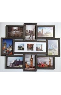 Фоторамка оригинального дизайна со стеклом Города.