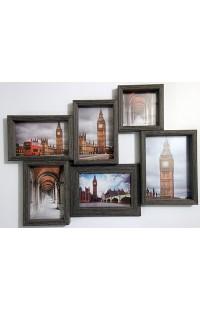 Фоторамка оригинального дизайна со стеклом Лондон.
