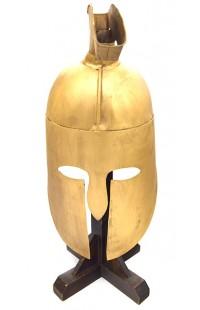 Закрытый шлем средневекового рыцаря (эпоха Раннего Возрождения).