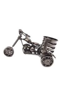 Металлический держатель Мотоцикл 15см.