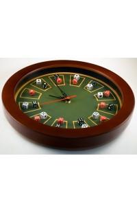 Часы настенные в деревянном корпусе Крэпс 30см оригинальный контент.