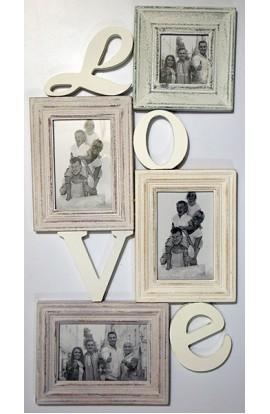 орамка настенная со стеклом ретро стиль Любовь.