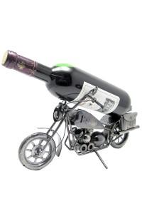 Держатель для винной бутылки из металла немецкий дизайн Байк.