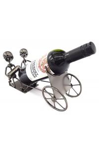 Держатель для винной бутылки из металла немецкий дизайн Артиллеристы, Сталин дал приказ.