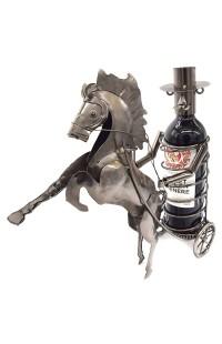 Держатель для винной бутылки из металла немецкий дизайн Колесница.