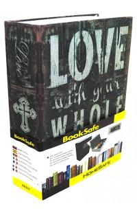 Книжка-сейф LOVE, высота 18см