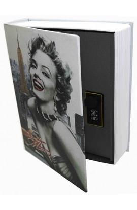 Книжка-сейф Marilyn Monroe / Мэрилин Монро, высота 27см