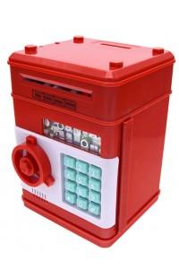 Копилка-сейф для монет и банкнот