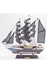 Декоративная модель ПИРАТСКИЙ ПАРУСНИК, 32 см