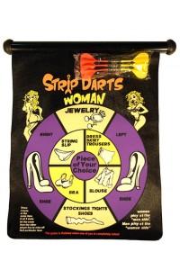 Магнитный дартс для веселой компании Стриптиз.