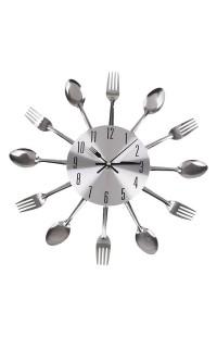 Настенные часы ЛОЖКИ&ВИЛКИ, 31 см