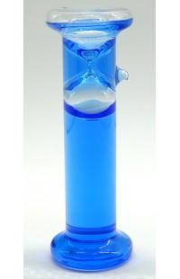 Часы песочные в жидкостном корпусе интервал 1 минута высота 14 см.