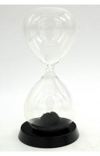 Часы магнитные с деревянной базой интервал 1 минута высота 16 см.